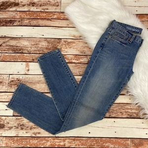 J. Crew Toothpick Skinny Jeans Size 26 Bliss Med